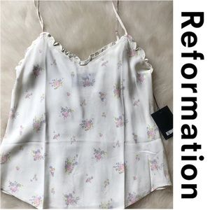 Reformation new floral tank XL